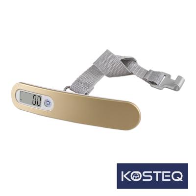 KOSTEQ 炫彩系列手提行李秤(50kg)-香檳金