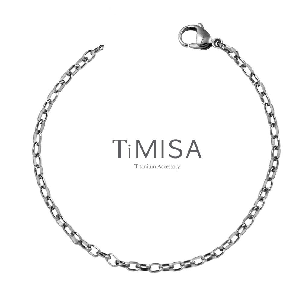 TiMISA《動感》純鈦手鍊(S)