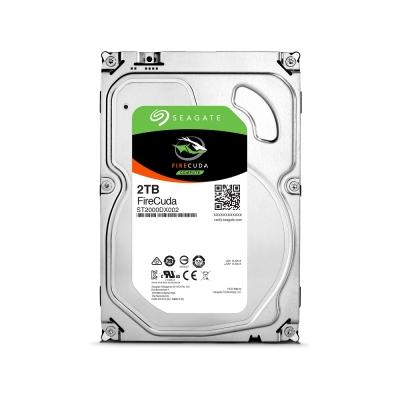 Seagate 火梭魚 FireCuda 3.5吋 2TB SSHD 固態混合碟