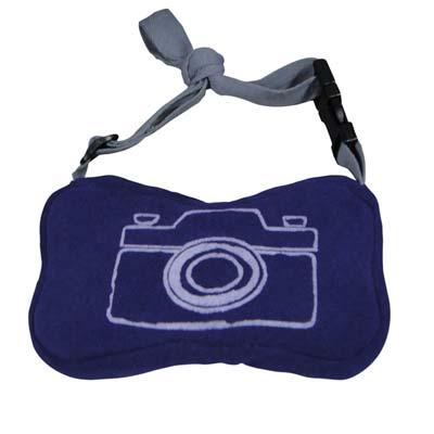 Yvonne骨頭相機袋-紫