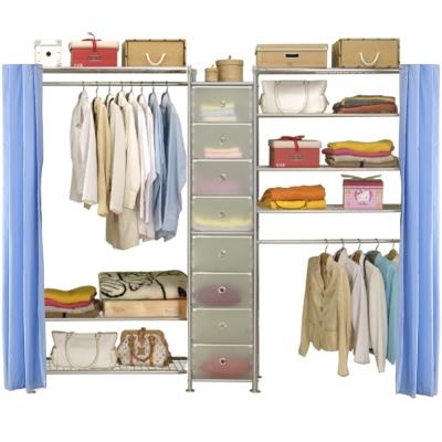 巴塞隆納─W3型90+D+W4型90衣櫥置物櫃
