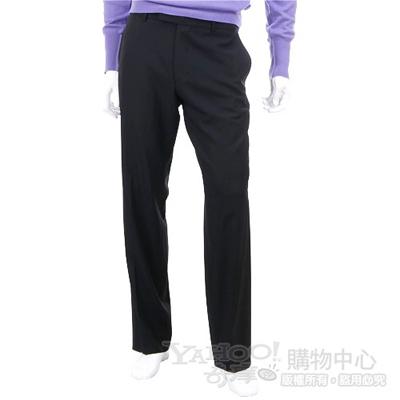 BOSS 黑色西裝長褲
