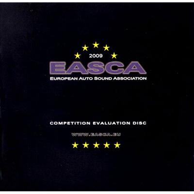 2009年EASCA歐洲車用音響協會終極測試片 CD