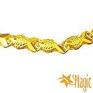 Magic魔法金-富貴黃金項鍊 (約4.5錢)