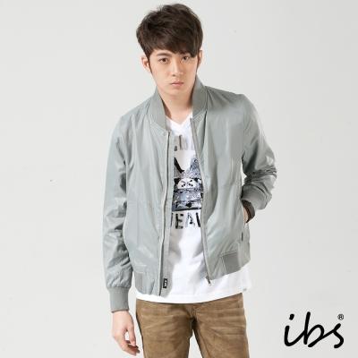 IBS 輕薄防風外套-灰-男