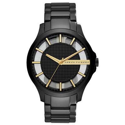 A│X Armani Exchange 時空遊者時尚都會簍空腕錶-AX2192/47mm