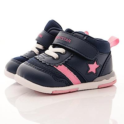 日本月星頂級童鞋 高機能學步款 NI55深藍(寶寶段)T2