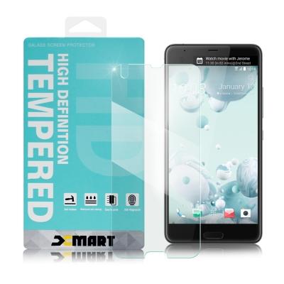 XM HTC U Ultra 薄型 9H 玻璃保護貼-非滿版