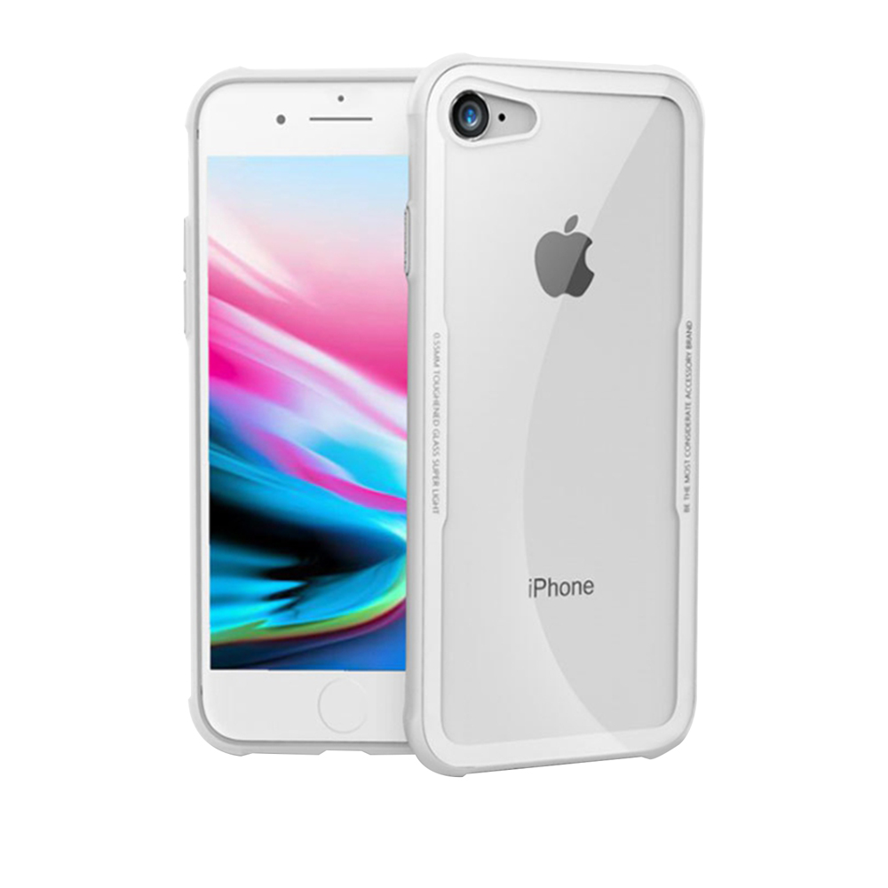 LUCCIDA Apple iPhone7 / 8 玻璃9H抗刮背蓋 product image 1