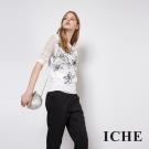 ICHE 衣哲 簍空蕾絲印花兩件式造型上衣