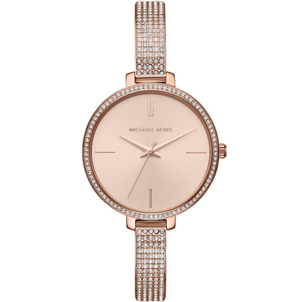 MICHAEL KORS 氣質女王手環錶(MK3785)玫瑰金色/37mm