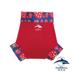康飛登 Konfidence  嬰幼兒游泳專用外層加強防漏尿布褲 - 紅/草莓