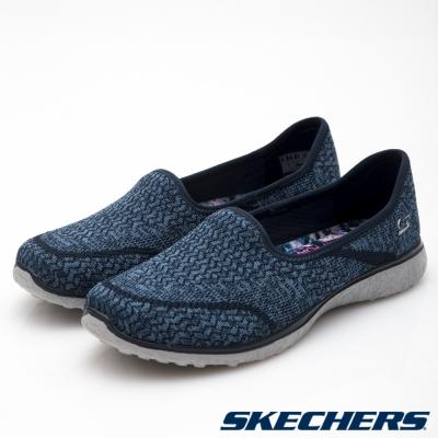 SKECHERS (女) 時尚休閒系列 Microburst -  23308 NVY