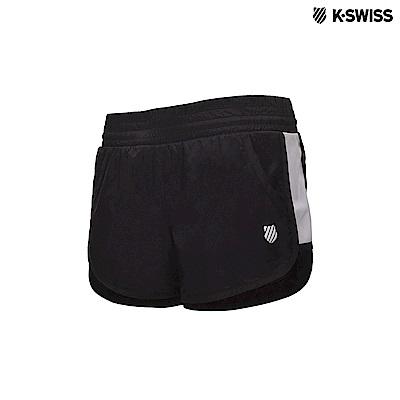 K-Swiss Woven Shorts運動短褲-女-黑