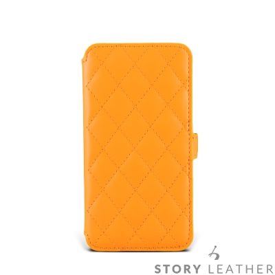 STORYLEATHER SAMSUNG S8 / S8+ 硬殼式側翻菱格 客製...