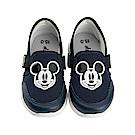 迪士尼 米奇 復古造型 休閒鞋-藍