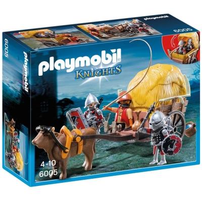 playmobil 中古騎士系列 鷹騎士與偽裝的武器車