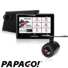 PAPAGO!WayGO 810 5吋WI-FI衛星導航行車紀錄器+R1後鏡頭組合-急速配