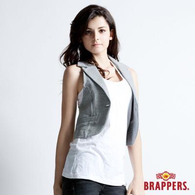 BRAPPERS 女款 棉質休閒背心--灰