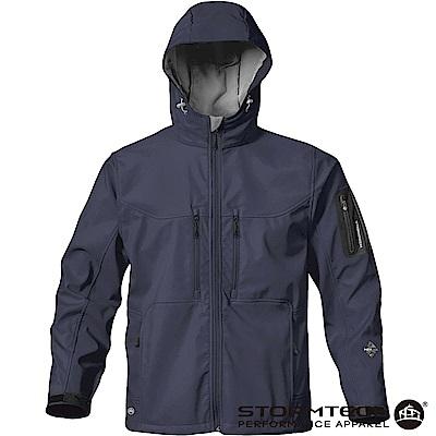 【加拿大STORMTECH】HS-1獨家輕薄防水透氣刷毛保暖外套-男-海軍藍