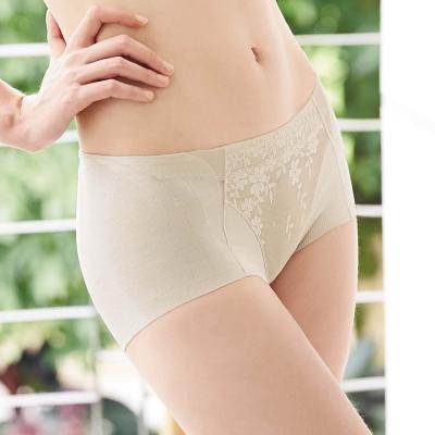 曼黛瑪璉-2014AW低腰平口無痕褲M-XL-月光膚