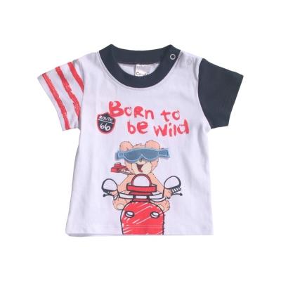 魔法Baby 專櫃款男寶寶短袖套裝 k41323