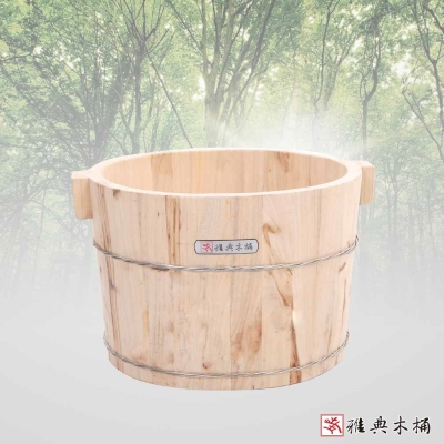 雅典木桶 傳統樟木 高30CM 泡腳桶