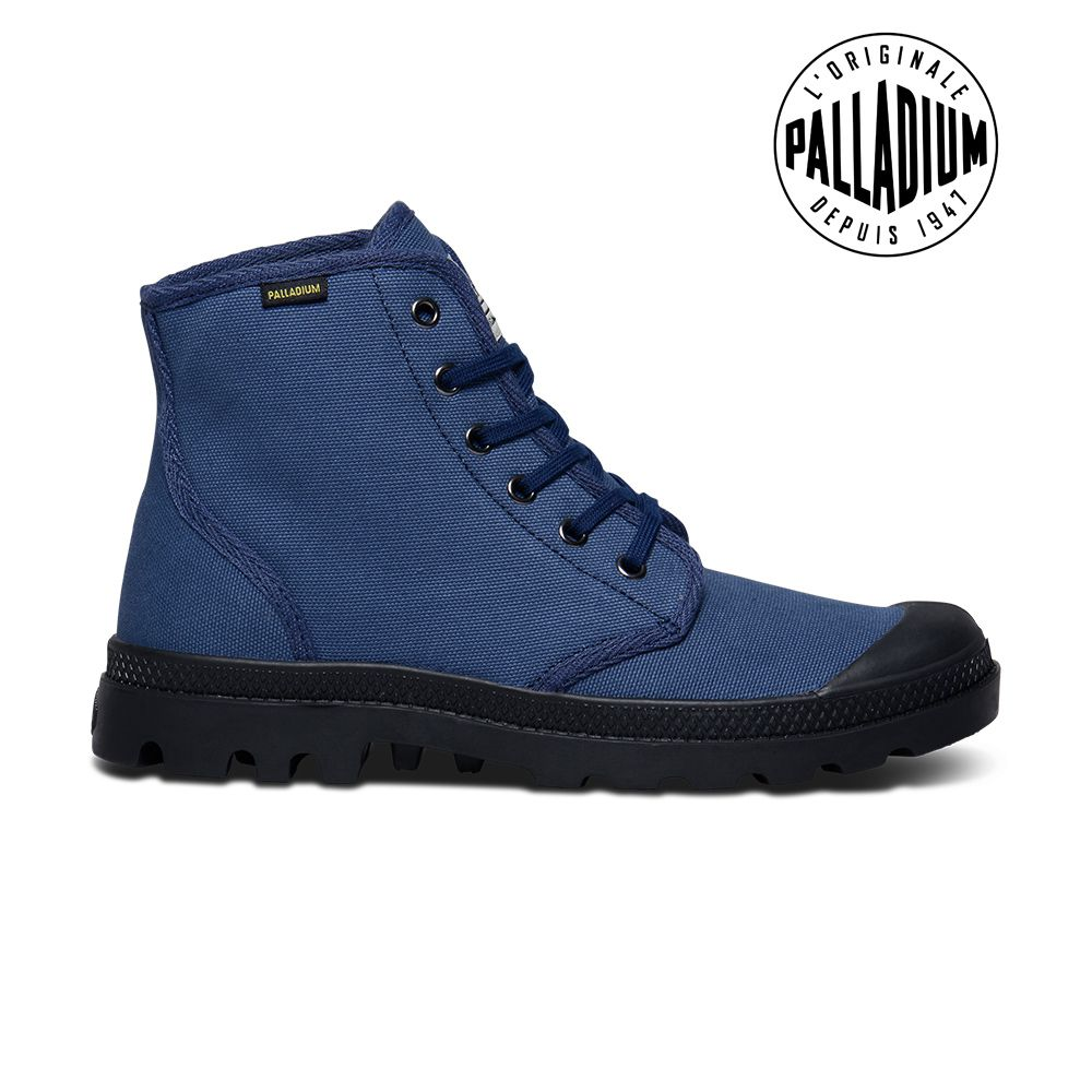 Palladium Pampa Hi Originale-男-海軍藍