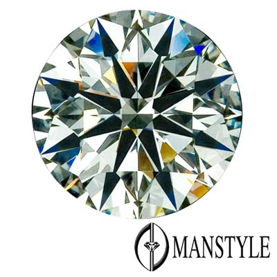 GIA-MANSTYLE 0.60ct F-VS1 八心八箭裸鑽