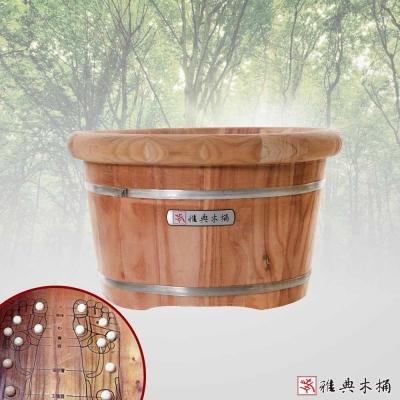 雅典木桶 香椿木 泡腳桶(高24CM)