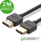 綠聯 HDMI 2.0傳輸線 2M