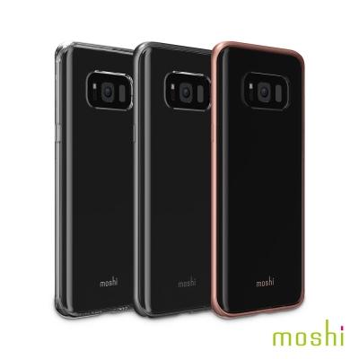 Moshi Vitros for Galaxy S8+ 超薄透亮保護背殼-透明