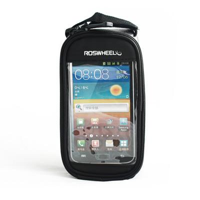 PUSH! 自行車用品 六代加大碼自行車前置物袋 手機袋 上管袋 工具袋可裝5.5寸屏手機