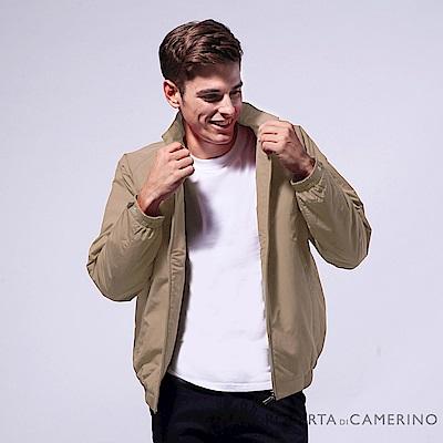 ROBERTA諾貝達 進口素材 禦寒必備 厚鋪棉夾克外套 卡其