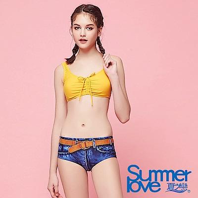 夏之戀SUMMERLOVE 大女短版二件式泳衣