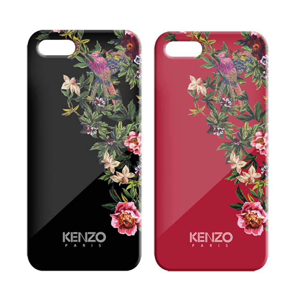 KENZO 異國風情系列 iPhone5/5S 保護殼
