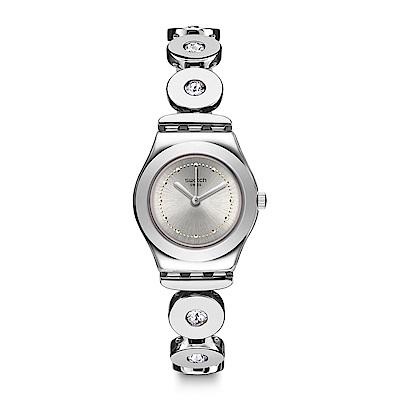 Swatch 金屬系列 INSPIRANCE 銀色精緻手錶