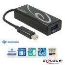 Delock Thunderbolt? 轉 USB 3.0連接器-62634