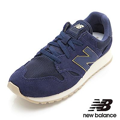New Balance復古鞋 WL520MG-B 女性 丈青