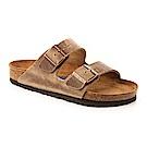 勃肯BIRKENSTOCK552811亞利桑那 經典二條拖鞋(煙燻咖啡)