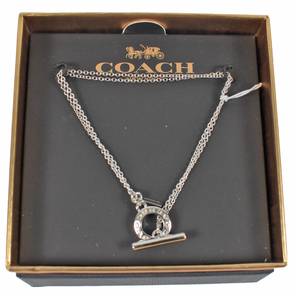 COACH 經典LOGO環裝飾手鍊(銀)COACH