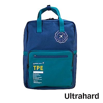Ultrahard Traveler Destn後背包-台北(藍綠)