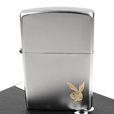 ZIPPO 美系~PLAYBOY-班尼兔圖案自動雕刻打火機