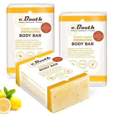 Freeman 檸檬橘皮亮白保濕皂3入組(重量版)新品 ★市價2040
