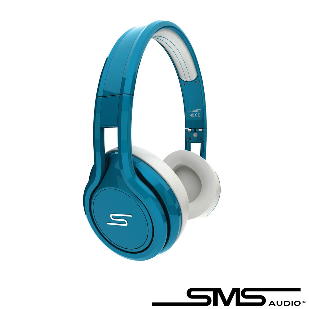 SMS STREET by 50 On-Ear Wired 彩色限量款耳罩式耳機(靓藍)