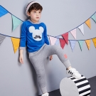 Disney 米奇系列運動星刷毛哈倫褲 (共3色)