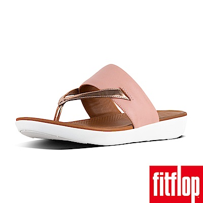 FitFlop DELTA TOE-THONG SANDALS 粉/金
