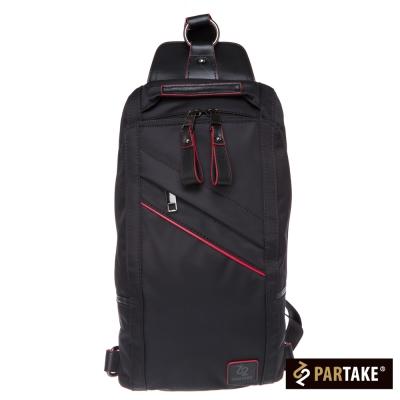 PARTAKE-A3系列-單肩後背包-黑-PT15