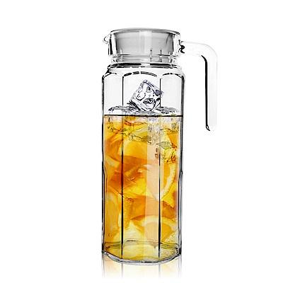 Besos 無鉛玻璃耐熱水壺1000ML(八角瓶)