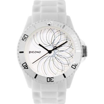 PICONO BA-PP-08 繽紛主題 - 普普馬戲團系列手錶 - 白/40mm